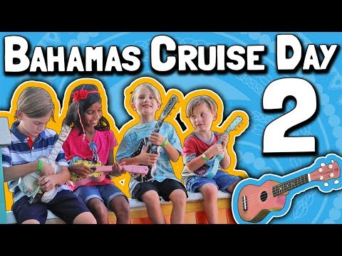 Bahamas Cruise 2018 (Day 2): Pool Day and Arriving at Nassau 🏊🎸🍹👔