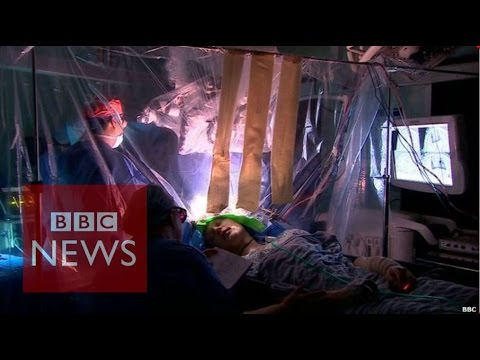 Laser detects brain tumour during surgery - BBC News