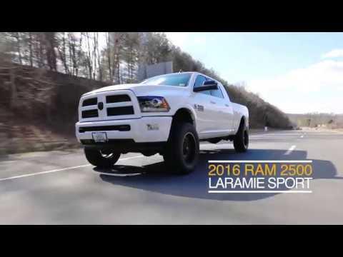LEVELED 2016 Ram 2500 Laramie Sport Mega Cab