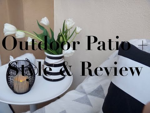 Outdoor Patio Style + Safavieh Style & Review