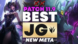 The BEST Junglers For All Ranks! | NEW META Patch 11.9 | Tier List League of Legends Season 11