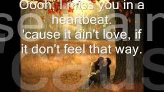 Download lagu I Miss You In A Heartbeat - Def Leppard lyrics