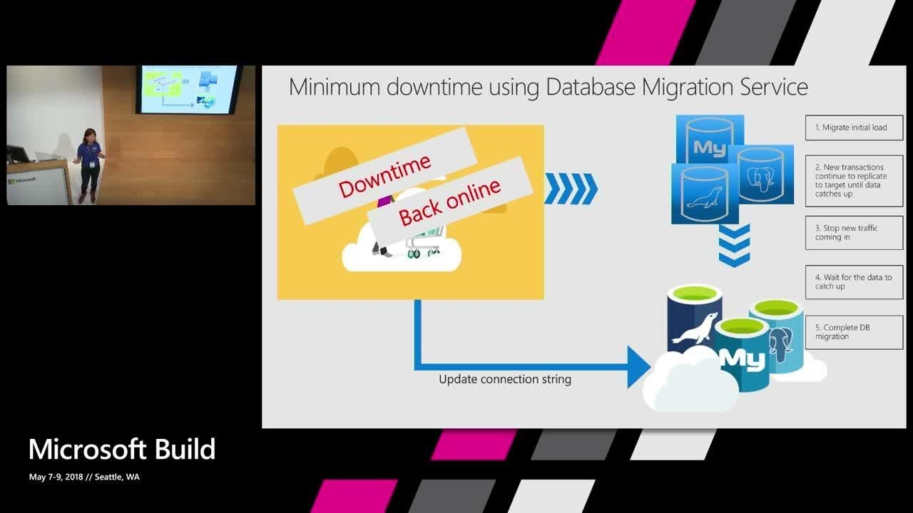 Easily migrate MySQL/PostgreSQL apps to Azure managed service : Build 2018