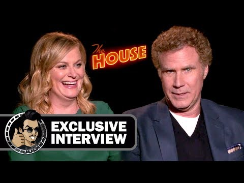 Will Ferrell and Amy Poehler's Hilarious Interview for THE HOUSE (JoBlo.com) 2017
