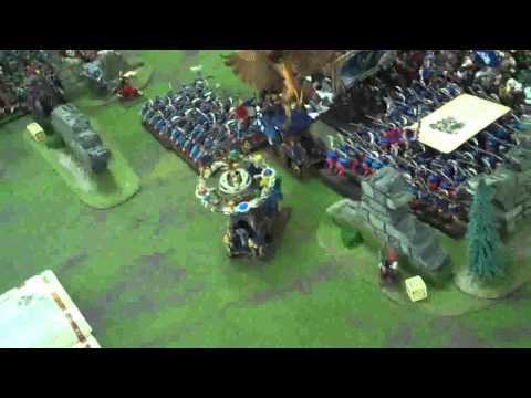 Empire vs Orcs and Ogres Mega Battle 08 Turn Redux Warhammer Fantasy Battle Report