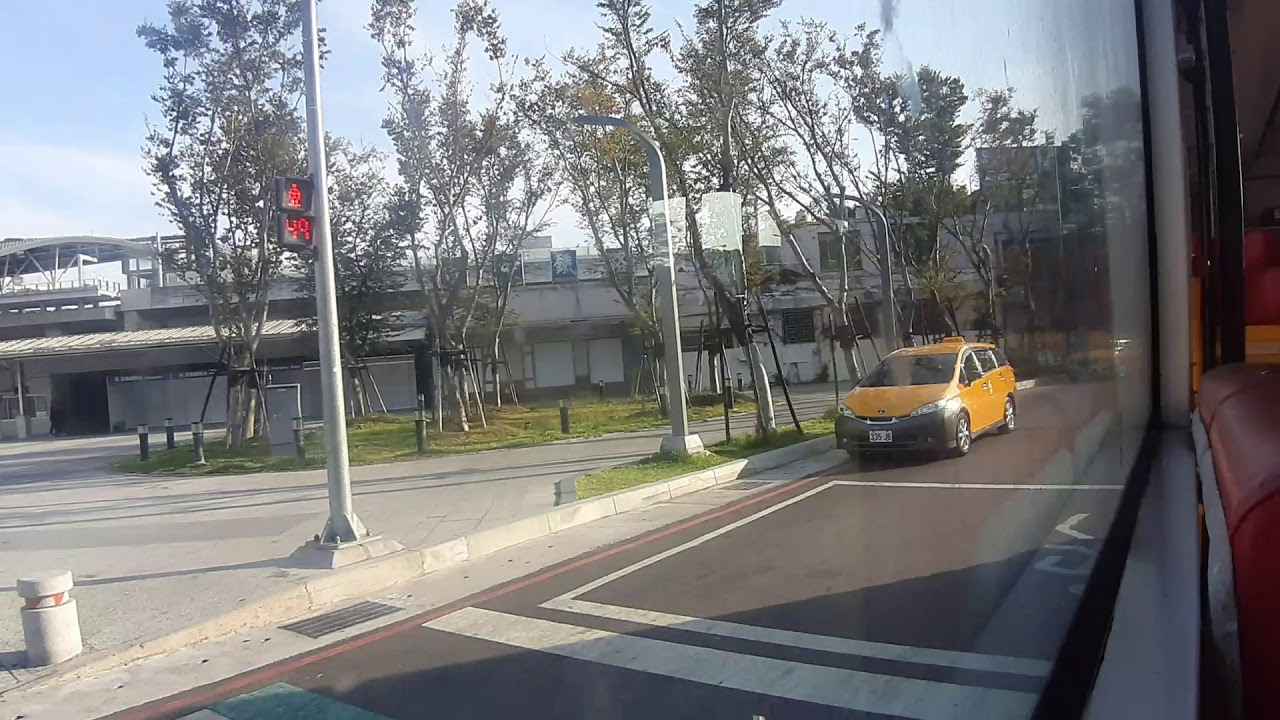 臺中火車站公車轉運中心。 - YouTube