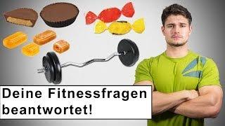 Beste Trizepsübung? Süßigkeiten schädlich für Muskelaufbau?