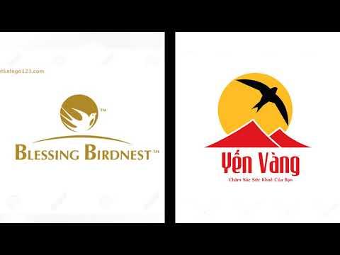 Thiết Kế Logo Chim Yến (GIẢM 50%) - Liên Hệ: 0983400168