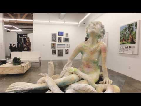 Mark Moore Gallery presents Art Culver City Los Angeles   David Ryan  Ghost Strokes