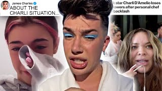 James Charles CALLS OUT Trisha Paytas and Charli D'Amelio