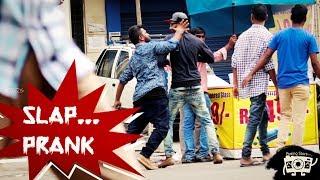 Slapping Prank in Hyderabad by Posing Pranks || PosingStars || Mohan Vamsi