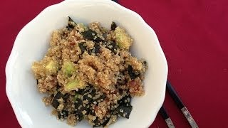 Quinoa Salad With Sushi Flavour