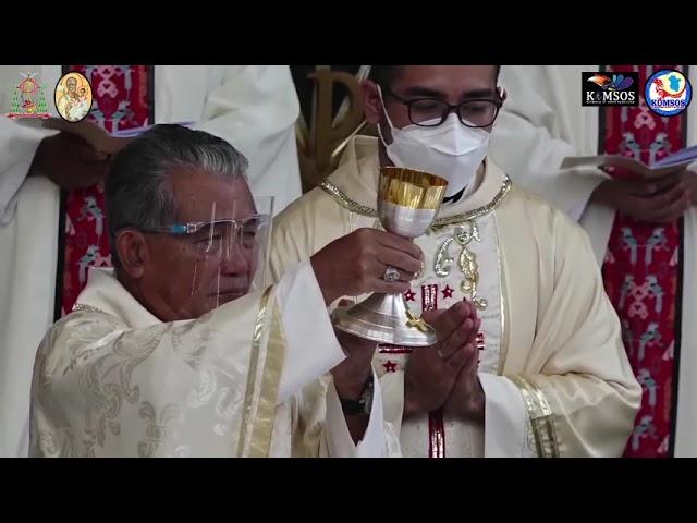 Tahbisan Diakon dan Imam Misionaris Para Rasul Kudus MSA, 29 Juni 2021, Pkl  09 00 WIB