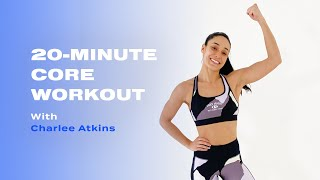 Charlee Atkins와 함께하는 20 분 체중 코어 근력 운동