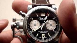 Graham Chronofighter Automatic Chronograph Watch Review