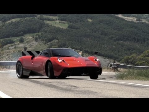 Pagani Huayra: Test Drive in Italy – /CHRIS HARRIS ON CARS
