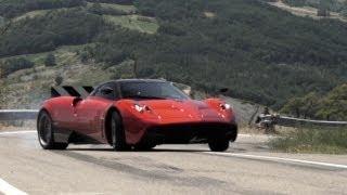 pagani huayra test drive in italy chris harris on cars