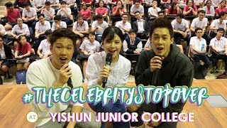 Fun and Games with Richie, Michelle and Yixi @Yishun Junior College !