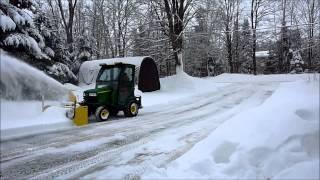 John Deere X748 - 54 Inch Snow Blower D2 - 20140202