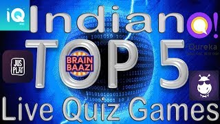 Top 5 Live Quiz App in India||Top Live Trivia Games in India||[Hindi/Urdu]||By PS TECH