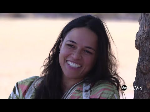 Michelle Rodriguez on her spiritual journey in Mexico  ABC   Nightline