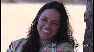 Michelle Rodriguez on her spiritual journey in Mexico | ABC News - Nightline