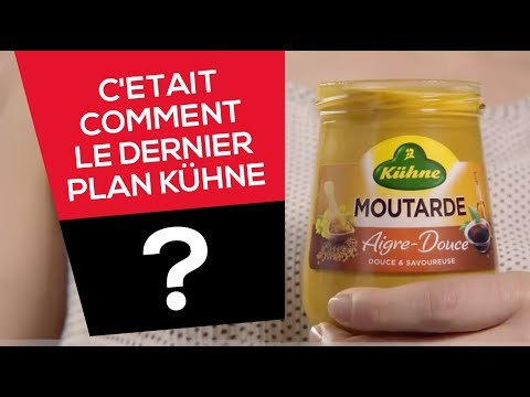 Spot TV KÜHNE par l'agence de Publicité BIG Success - Moutarde