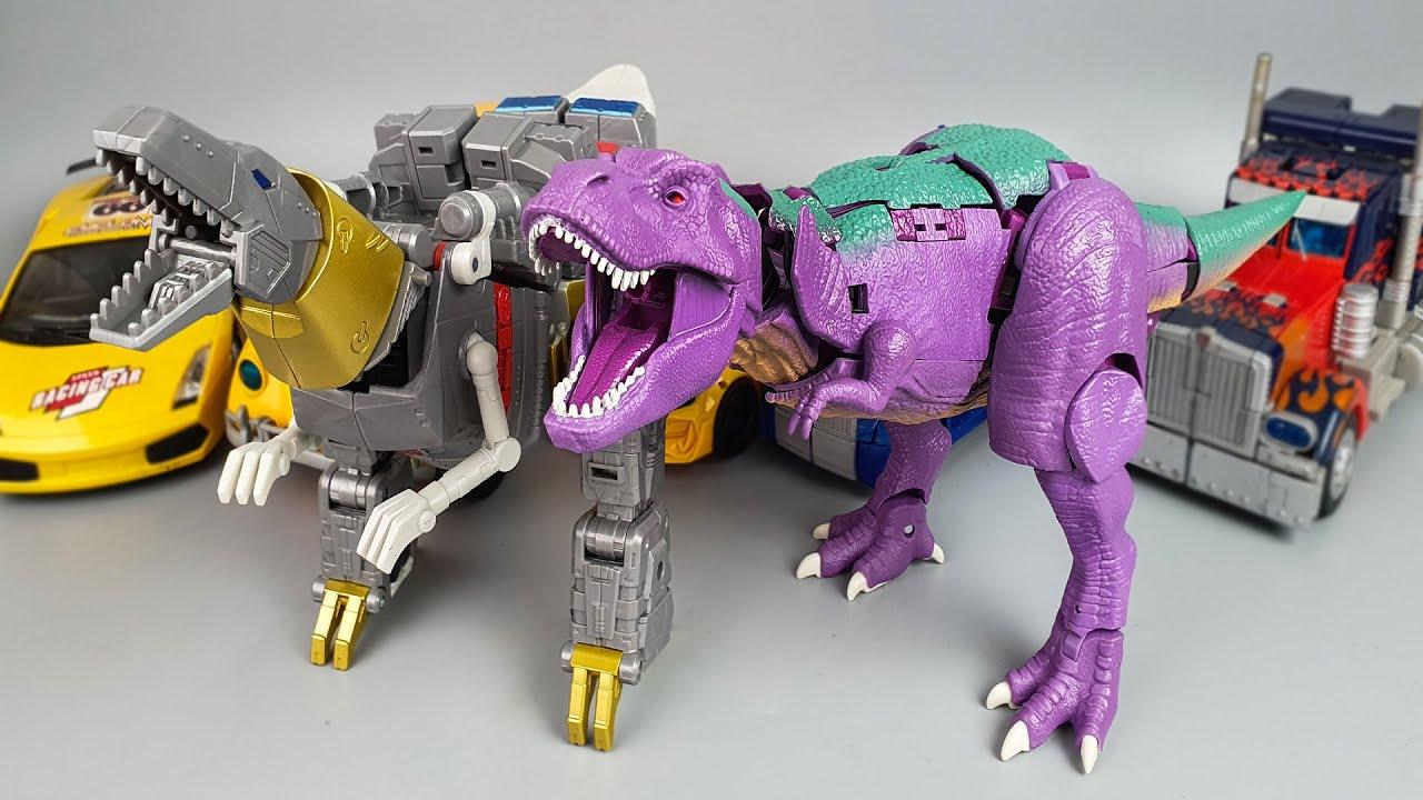 Transformers Studio Series Grimlock Vs Kingdom Megatron by SwiftTransform