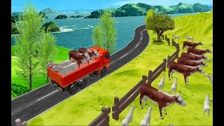 Animal Safari Transport Truck - Car Truck  Android Gameplay