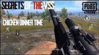 VSS Secrets Chicken Dinner Gameplay & Tips Pubg Mobile