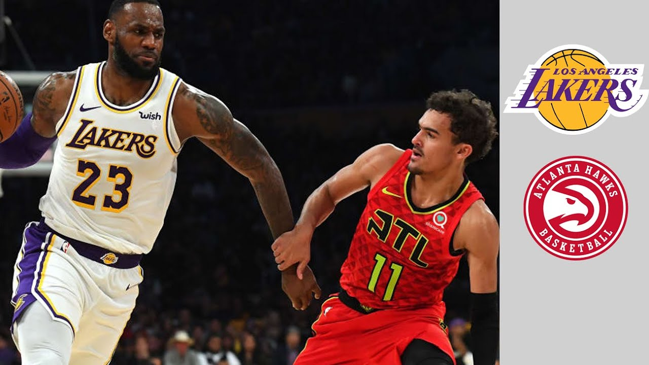 LAKERS VS HAWKS - FULL GAME 2021 NBA SEASON FEB 1, 2021 | NBA 2K