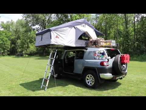 The Pros and Cons of a Roof Top Tent & xtm rooftop tent bcf 2018 video