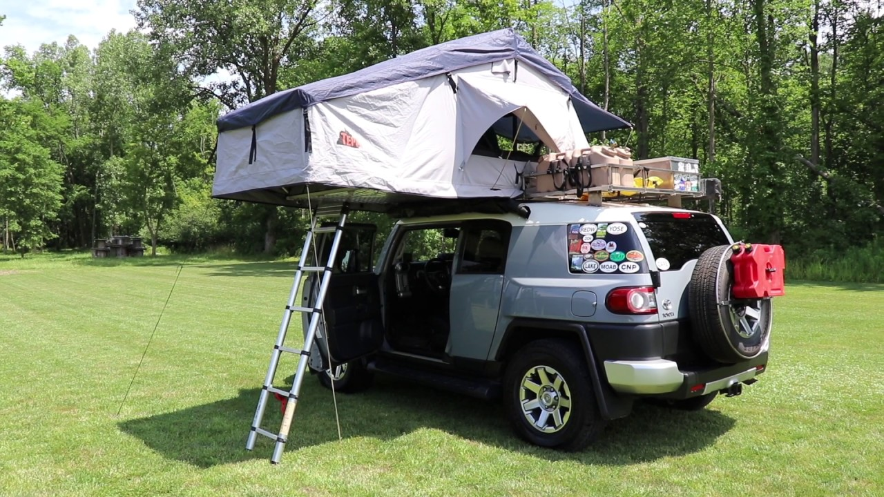 how to make a roof top tent