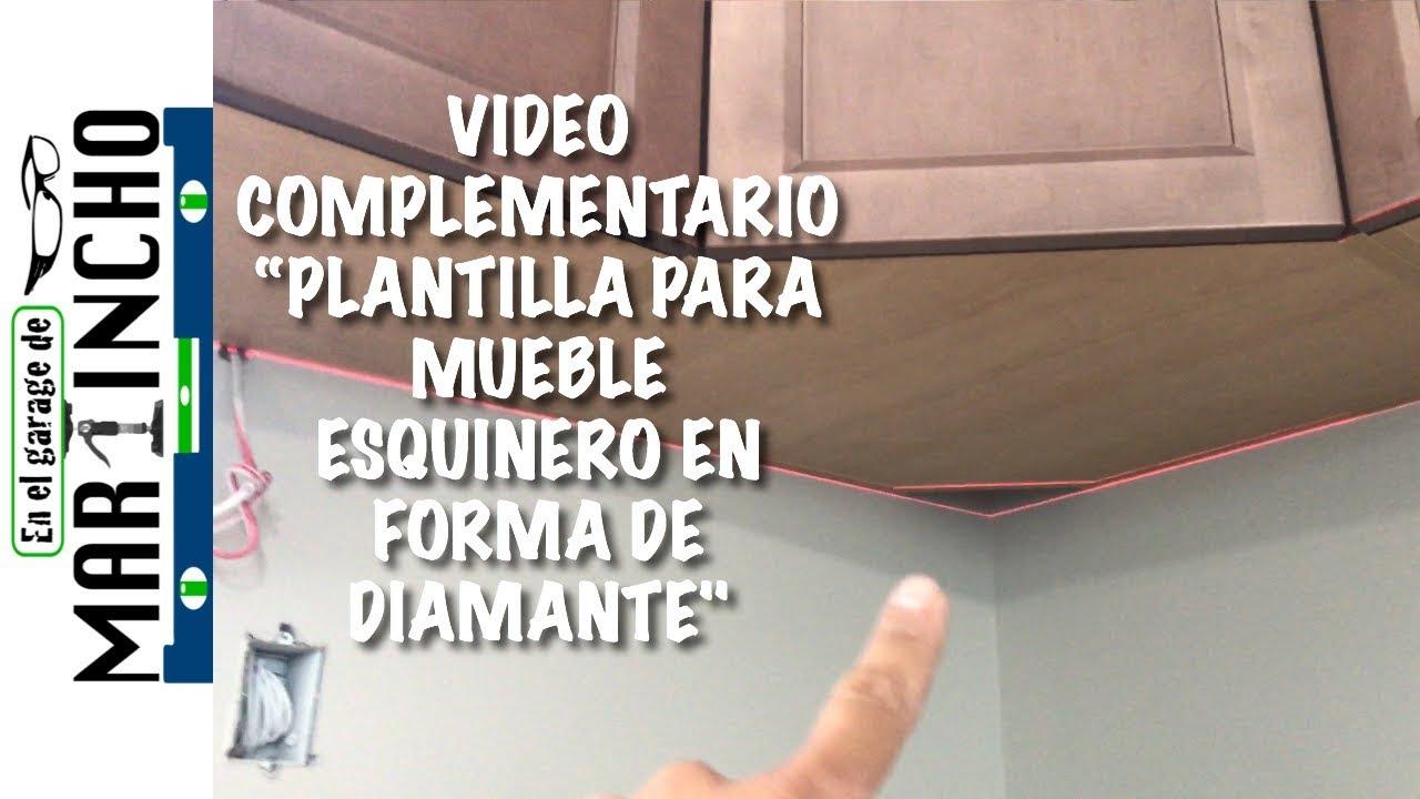 Mueble esquinero para cocina video complementario youtube - Mueble esquinero cocina ...