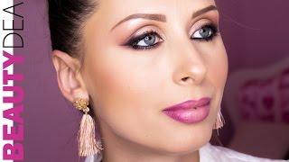Trucco rosa e nero glamour | Beautydea