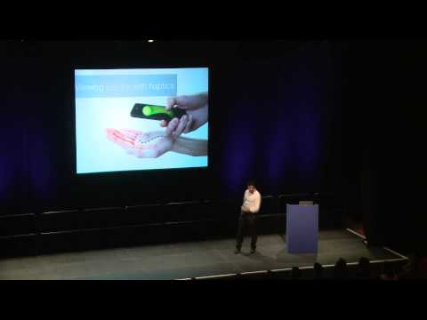 Sriram Subramanian - Beyond Multitouch: Ultrahaptics & Multi-view Displays