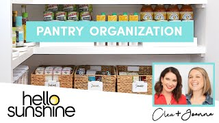 How To Organize The Pantry  with The Home Edit   Master the Mess EP 3