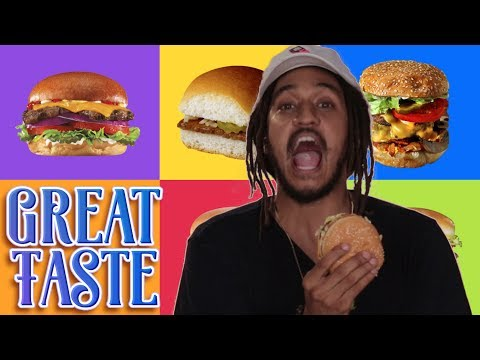 The Best Fast-Food Burger | Great Taste