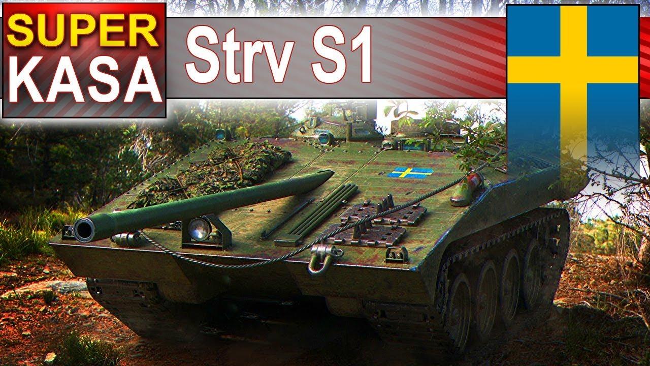 Strv S1 – mistrzostwo świata i 430 000 zarobku – BITWA – World of Tanks