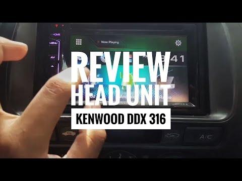Review KENWOOD DDX417BT | FunnyCat TV