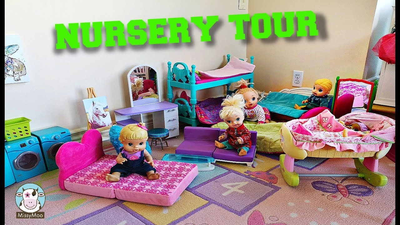 Baby Alive Doll Nursery Tour 2019 Youtube