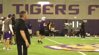 Highlights of LSU QB commitment Max Johnson at Tigers camp
