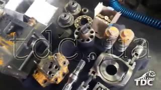 Ремонт і запчастини гідронасоси і гідромотори навантажувача UNC