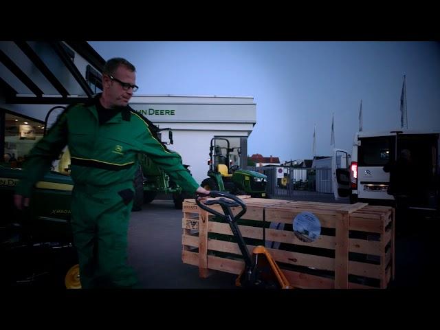 John Deere Dealer Logistiek - Vervanging van Chopper