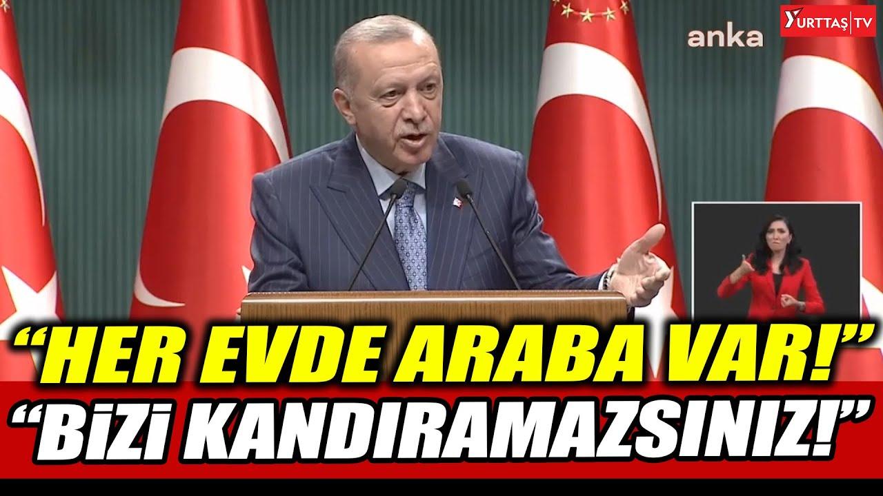 Download Erdoğan: Şu anda her evde araba var! Bizi kandıramazsınız!