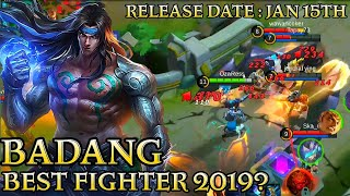Badang Best Fighter Gameplay - Mobile Legends Bang Bang