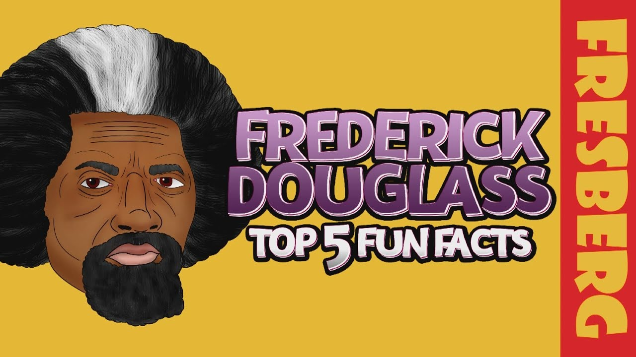 Top 5 Interesting Facts about Frederick Douglass for Students | Black History Cartoon | Biography