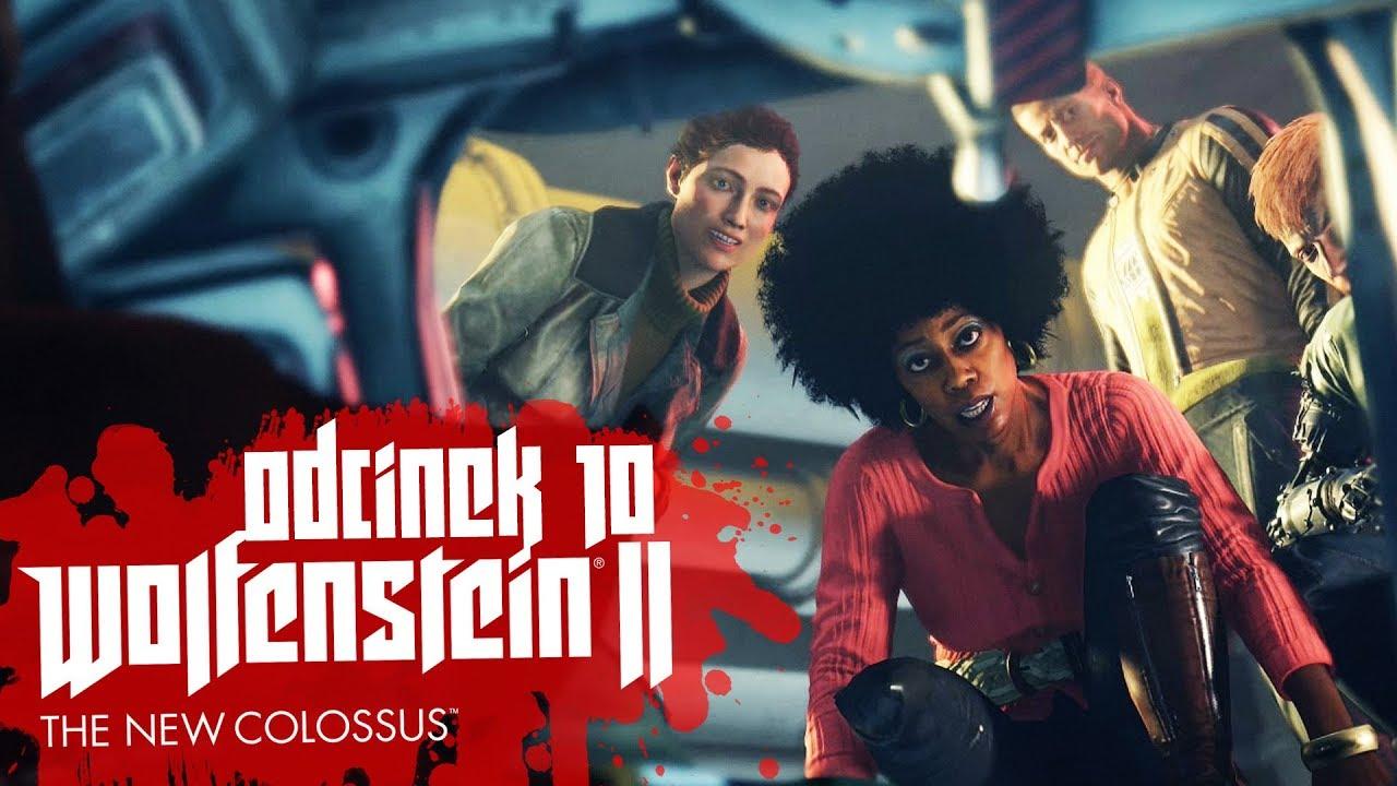 Zagrajmy w Wolfenstein II The New Colossus #10 – WITAMY W NOWYM ORLEANIE! – PC