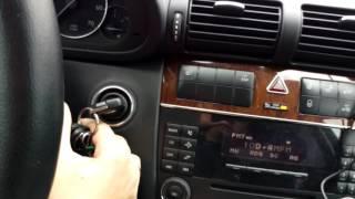 Сброс технического интервала на Mercedes C180 W203 Ресталинг