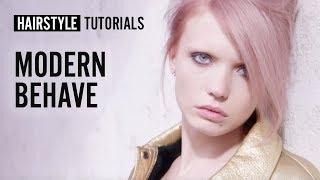 How to style modern behave? by Adam Reed | L'Oréal Professionnel tutorials